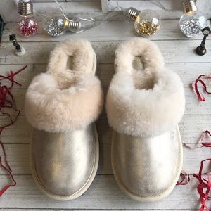 UGG K Cozy ll Metallic slippers Kid's
